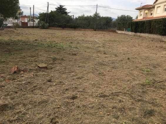 Desbroces y limpiezas de terrenos
