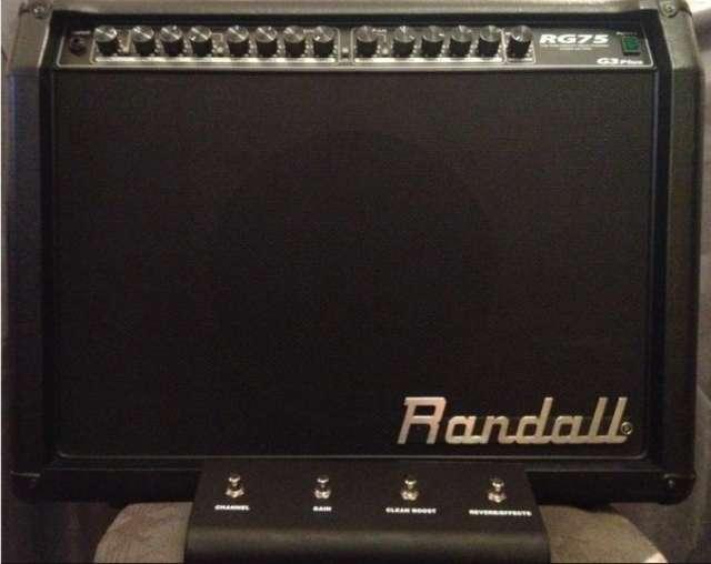Amplificador randall rg75 g3plus 75wbafle 12 para guitarra eléctrica. precio negociable