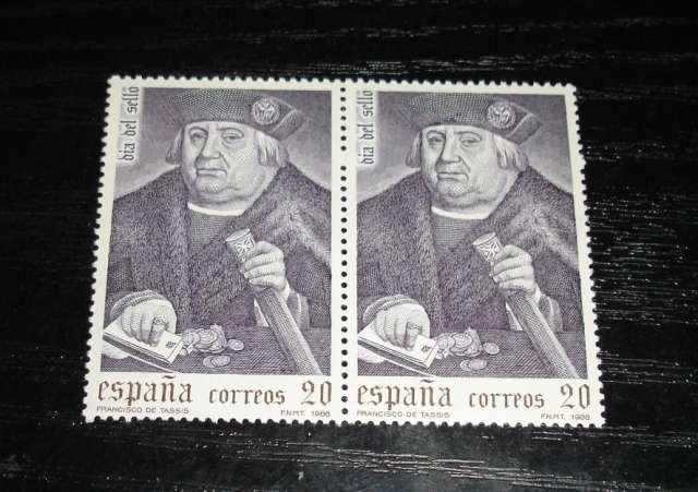 Sellos dia del sello francisco tassis