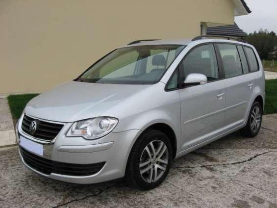Volkswagen touran (2) 1.9 tdi 105 comfortline 7pl oportunidad